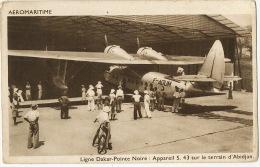 Aeromaritime Hydravion S. 43  Ligne Dakar Pointe Noire à Abidjan Chargeurs Reunis - 1919-1938: Entre Guerres