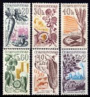 CSSR 1961 * Landwirtschaftliche Produkte - Kompletter Satz Postfrisch Mit Falz (*) - Landwirtschaft