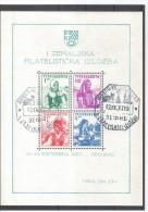 XIO406  JUGOSLAWIEN 1937 MICHL BLOCK 1 Used / Gestempelt - 1931-1941 Kingdom Of Yugoslavia