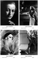 JOAN CRAWFORD - Film Star Pin Up - Publisher Swiftsure Postcards 2000 SET 137-40 - Artisti