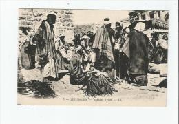 JERUSALEM 5 TYPES ARABES - Palästina