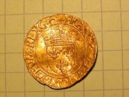 Demi-écu D'or Au Soleil - 1515-1547 François I.