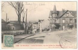 93 - LE RAINCY - Allée Gambetta, Vue De L'Allée De L'Ermitage - RF 1286 - 1904 - Le Raincy