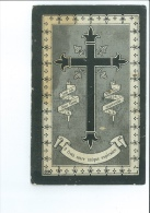 EDOUARD MASUREEL VEUF TH BUSQUAERT ° BAVIKHOVE ( HARELBEKE ) 1818 + 1892 IMP COURTRAI BEYAERT SIOEN - Images Religieuses