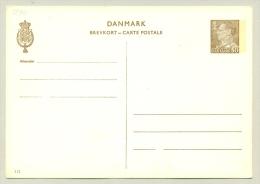 Danmark - 1968 -  Brevkort 50 Ore Friedrich IX - Unused - Enteros Postales