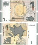 Azerbaijan - 1 Manat 2009,  UNC