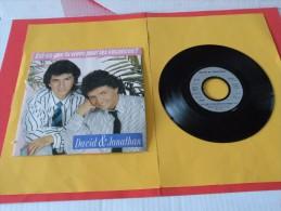 David & Jonathan, Est Ce Que Tu Viens Pour Les Vacances ? - 1988 - Voir Photos,disque Vinyle - 2 € Le Vinyle 45 T - Reggae