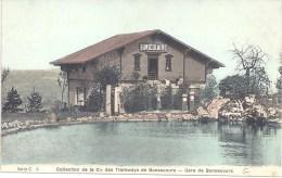 76 BONSECOURS - COLLECTION De La Cie Des Tramways De Bonsecours - Gare De Bonsecours - Série C 6 - Bonsecours