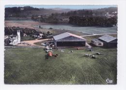 BASSILLAC  24 DORDOGNE PERIGORD VUE AERIENNE  AERODROME  AIRPORT   AEROPORT - Aerodrome