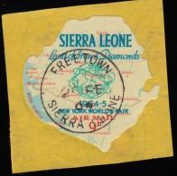 SIERRA LEONE - Scott #C15 World's Fair, New York '64 / Used Stamp - Sonstige - Afrika
