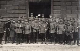 CPA 1775 - MILITARIA - Carte Photo Militaire -  Officiers De Divers Rgt - Photo G.CLEMENT Au HAVRE - Personnages