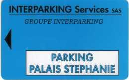 Cannes 06400 : Parking Palais Stéphanie : Interparking Services S.a.s. - France