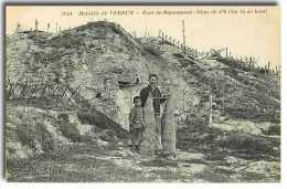 55593 DOUAUMONT BATAILLE DE VERDUN  FORT DE DOUAUMONT  OBUS DE 420  1M 35 DE HAUTEUR DOUAUMONT BATAILLE DE VERDUN  FORT - Douaumont