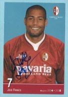 Torino Calcio  -  Josè Franco (con Autografo) - Riproduzioni