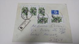MANDRAGORA TURCHIA TURKIYE TURKEY Plant Plants Flower Fiore Fiori Pianta Registered Letter ANKARA 1960 - Plantes Médicinales