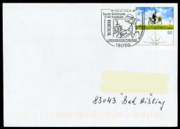 36909) BRD - Ganzsache USo 97 - SoST 18059 ROSTOCK Vom 18.10.2008 - Tag Der Briefmarke - [7] West-Duitsland