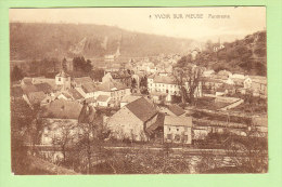YVOIR SUR MEUSE : Panorama. 2 Scans. Edition Belges - Yvoir