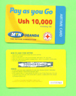 UGANDA - Remote Phonecard As Scan - Ouganda