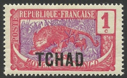 Chad, 1 C. 1922, Scott # 1, MH. - Chad (1922-1936)