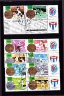 CUBA : Médailles Olympiques : Y&T : O : 3579  à 3588 - Oblitérés