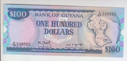 Guyana 100 Dollar 1989 Pick 28 UNC - Guyana