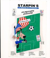 Magnets Puzzle Coupe Du Monde 1994 USA - Sport