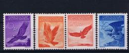 Liechtenstein Mi Nr 143 Y - 146 Y   MH/*  1934