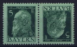 Bayern: Kehrdruck  Mi Nr 77   MH/*  1911 - Bayern