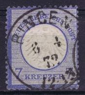 Deutsche Reich Mi Nr 10 Used  2* Signed/ Signé/signiert - Germany