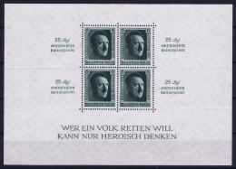 Deutsche Reich Mi Nr 11 MNH/**  Postfrisch, Some Spots In Gum - Blocks & Kleinbögen