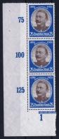 Deutsche Reich Mi Nr 543 Y  Not Used (*) 1934 Bogenecke