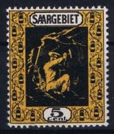 Deutsche Reich Saargebiet Mi Nr 85 B MNH/** - Ungebraucht