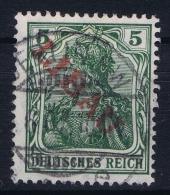 Deutsche Reich Libau 1 Bb  Surcharge Red