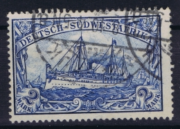 Deutsche Reich Südwestafrika  Mi Nr 21 Used Signed/ Signé/signiert