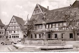 7110 ÖHRINGEN, Marktbrunnen, 1962 - Oehringen