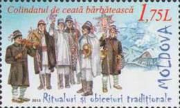 Moldova Moldawien 2013 MNH ** Mi. Nr. 853 Traditional Rituals - Moldavië