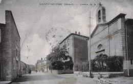 SAINT PARGOIRE - Avenue De La Gare -  Le Temple Protestant - Other Municipalities