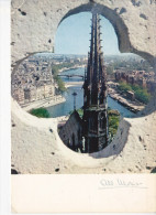 PARIS, La Seine Et La Flêche De Notre-Dame, Ed. Albert Monier 1960 Environ - Notre Dame De Paris