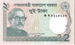 Bangladesh - Pick 52a - 2 Taka 2011 - Unc - Bangladesh