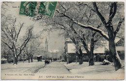 GAP - Sous La Neige - Avenue D' Embrun  (83255) - Gap