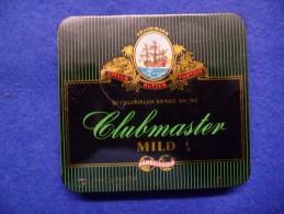 Boîte Métallique De Cigares Clubmaster, Vide - Cajas Para Tabaco (vacios)