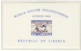 LIBERIA Imperforated Block Mint Without Hinge - 1966 – Inglaterra