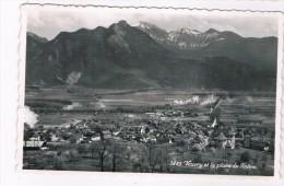 CH3656     VOUVRY : Et La Plaine Du Rhone - VS Valais