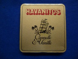 Boîte Métallique De Cigares Havanitos, Vide - Contenitori Di Tabacco (vuoti)