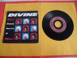 Divine - 1984 - Voir Photos,disque Vinyle - 2 € Le Vinyle 45 T - Hard Rock & Metal