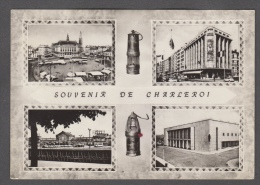 1961 SOUVENIR DE CHARLEROI PROMENADES FG V SEE 2 SCANS ANIMEE - Charleroi