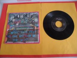 Hithouse, Move Your Feet To The Rhym Of Beat - 1989 - Voir Photos,disque Vinyle - 2 € Le Vinyle 45 T - Dance, Techno & House
