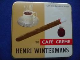 Boîte Métallique De Cigares Wintermans, Vide - Contenitori Di Tabacco (vuoti)