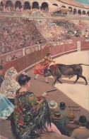 Bull Fight Estocada A Volapie - Corrida