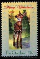 (cl.11 - P.58) Gambie ** N° 2672 (ref. Michel Au Dos) - Chevreuil - - Gambia (1965-...)